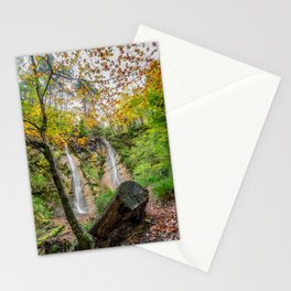 Autumn Waterfall Stationery Cards