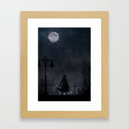 Bloodborne | Warriors Landscapes Serries Framed Art Print