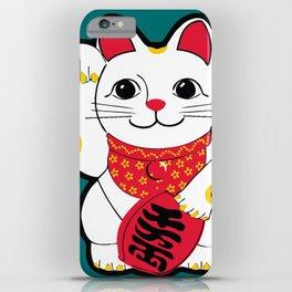 Maneki-Neko Japanese Lucky Cat iPhone Case