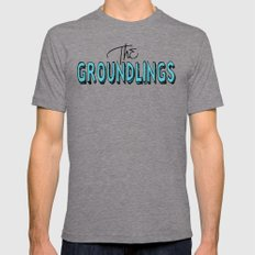 Lines (From A Bowl) Mens Fitted Tee Tri-Grey X-LARGE