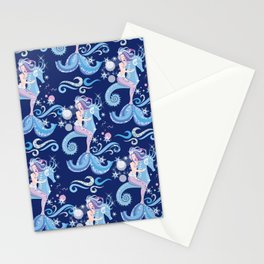 Ice Mermaid Stationery Cards