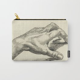 Study of Hand, 1813 - Vintage Anatomical Illustration Carry-All Pouch