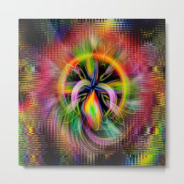 Abstract in Perfection - Magic of the circle 2 Metal Print