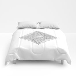 DMT OCTAHEDRON Comforters