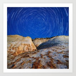 Up To the Milky Way Art Print