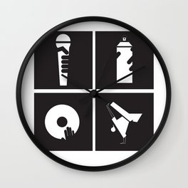 Style HipHop Wall Clock