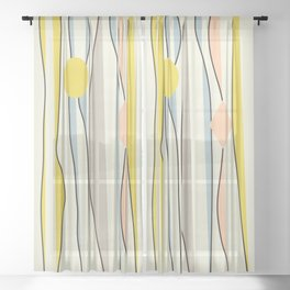 ComeBack  #society6  #decor #buyart Sheer Curtain