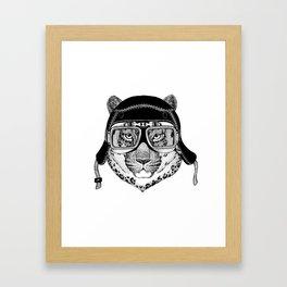 Leopard Speed Rebel Framed Art Print