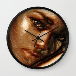 Portrait of Innocence Wall Clock