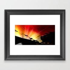 Light and Shaddow. Framed Art Print