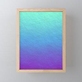 Summer Skies Framed Mini Art Print