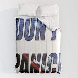 DON'T PANIC! Comforters