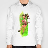 sailor jupiter Hoodies featuring Sailor Jupiter by Peach Mork