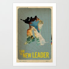 The New Leader Art Print