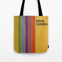 Retro Movie Camera Color Palette Tote Bag