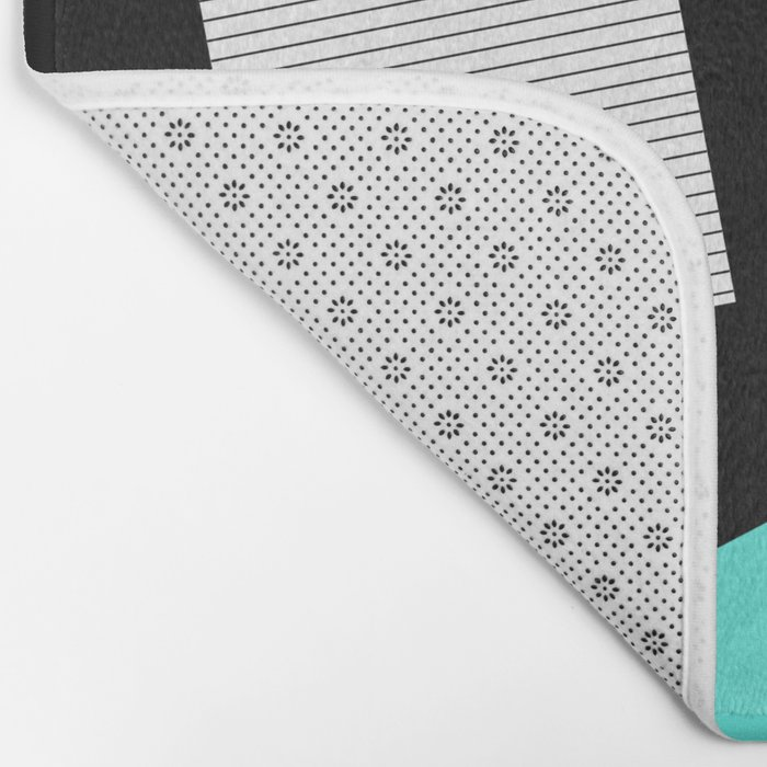 Bits And Bobs 2 - Abstract, geometric design Bath Mat