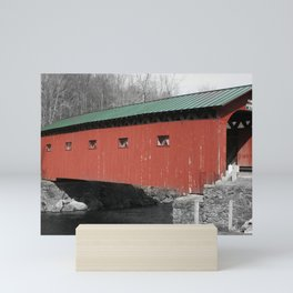 Arlington Covered Bridge Mini Art Print