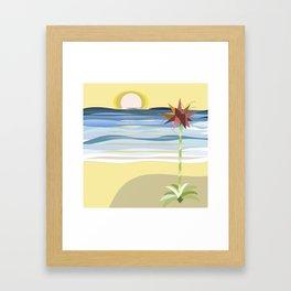 Sunset Gymea Framed Art Print