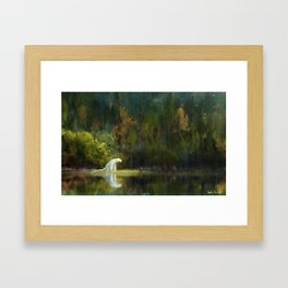 """""""The Lord of the Forest"""" Framed Art Print"""