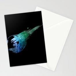 Final Fantasy VII logo universe Stationery Cards
