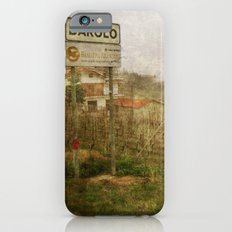 Barolo vineyards, Piedmont, Italy iPhone 6s Slim Case