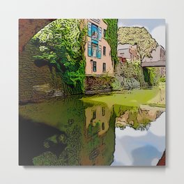 Chesapeake and Ohio Canal Metal Print