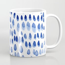 painted dots blue Coffee Mug