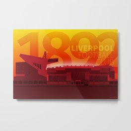 Anfield - LFC 1892 Metal Print