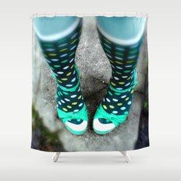 Let's Polka (Dot) Shower Curtain