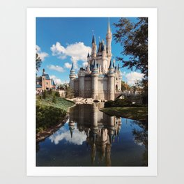 Dream Castle Art Print