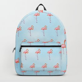 Flamingos in the Sky Backpack
