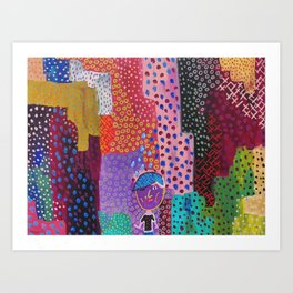 Party of One Art Print