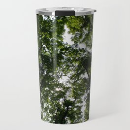 Forest Canopy Art Decor. Travel Mug