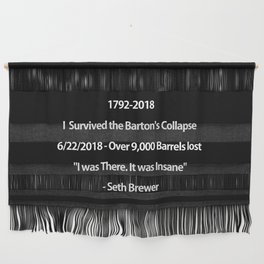 Barton's Collapse 2018 Wall Hanging