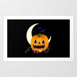Night of the Jack O'Lantern Art Print