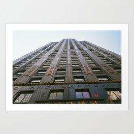 Carbon and Carbide Building - Chicago Art Print