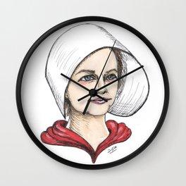 Handmaid Wall Clock