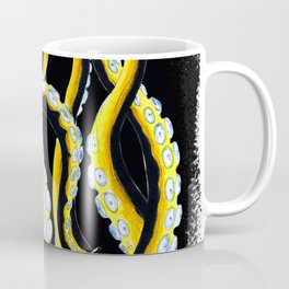Tentacles From The Murky Waters Ink Art Coffee Mug