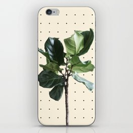 Home Ficus iPhone Skin
