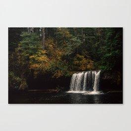 Autumn Waterfalls Canvas Print