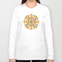 carousel Long Sleeve T-shirts featuring Pastel Carousel by Patricia Shea Designs