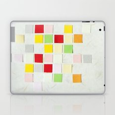 Colour Blocks Papercut Laptop & iPad Skin