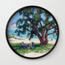 Made in the Shade — Sarasota, Florida Wall Clock
