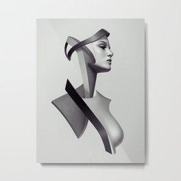 Sculp Torso 02 Metal Print