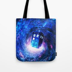 Tardis Doctor Who Vortex Tote Bag