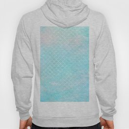 Limpet blue small scallops with paper texture Hoody