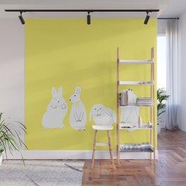 cute bunnies Wall Mural