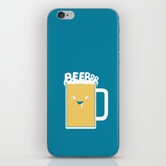 Beerrr iPhone & iPod Skin