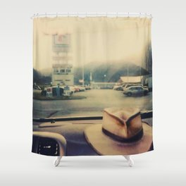 Windshield - Instant Photo Shower Curtain