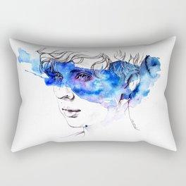 COLOUR ME BLUE   TROYE SIVAN ARTWORK Rectangular Pillow